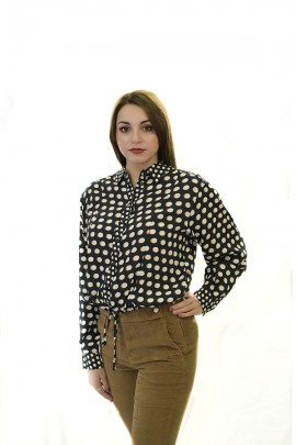 KOCCA Polka dot patterned shirt