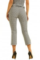 GUESS Short checked trousers