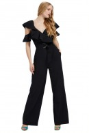 GUESS Palazzo jumpsuit and ruffles