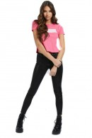 GUESS T-shirt with rubberized logo