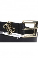 GUESS Belt with gold squared buckle