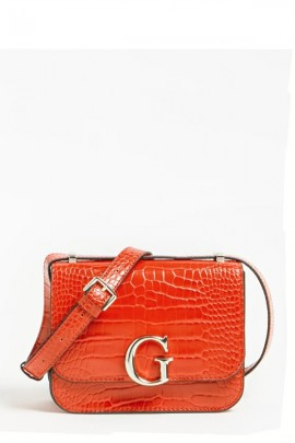 GUESS Borsa mini in pelle martellata