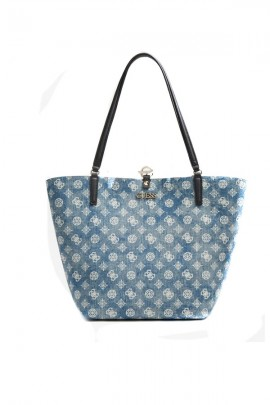 GUESS Micrologated bag with clutch bag
