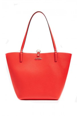 GUESS Soft dupleface bag - ROSSO