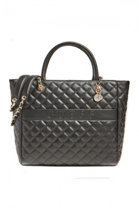GUESS Padded quilted bag - BLACK