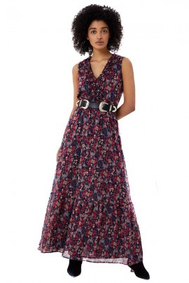 LIU JO Long floral dress - FLOREALE