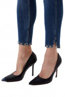 LIU JO Short skinny jeans with ankle details