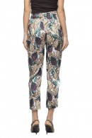 KOCCA Ankle-length floral trousers