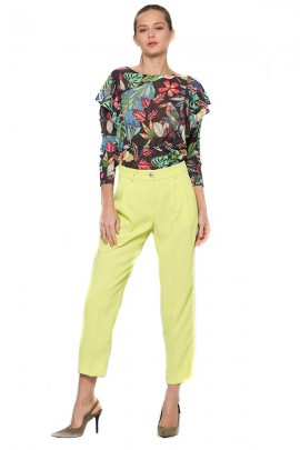 KOCCA Long sleeve floral blouse