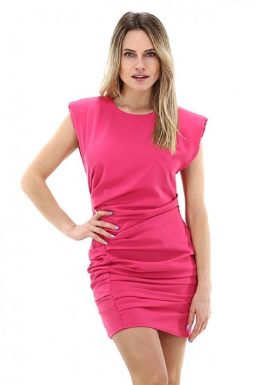KOCCA Short dress with side curl
