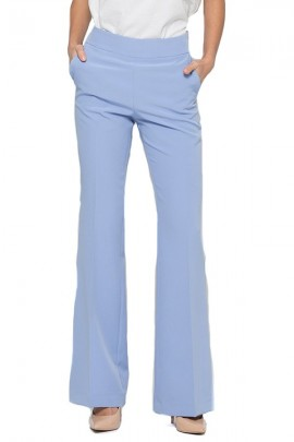 KOCCA Flared chino trousers - LIGHT BLUE