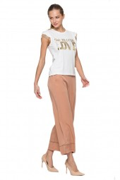 KOCCA T-shirt with gold applications