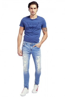 GUESS Jeans skinny strappato
