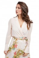 MARCIANO Blouse with crossover neckline