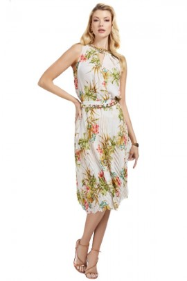 MARCIANO Blusa floral sin mangas