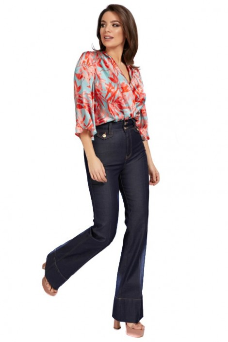 MARCIANO Body blouse with crossover neckline