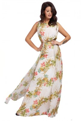 MARCIANO Long floral dress