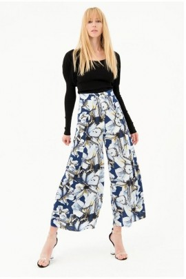 FRACOMINA Floral palazzo trousers