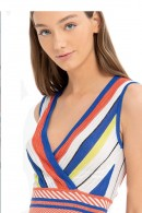 FRACOMINA Multicolor striped top