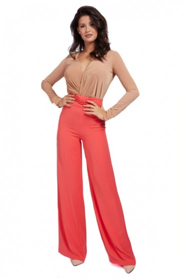 MARCIANO Palazzo trousers and high waist