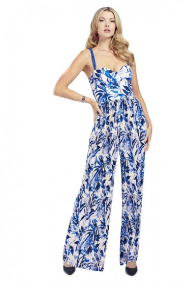 MARCIANO Floral patterned pleated jumpsuit