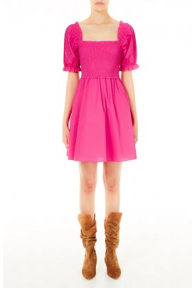 LIU JO Short dress with gathered bodice