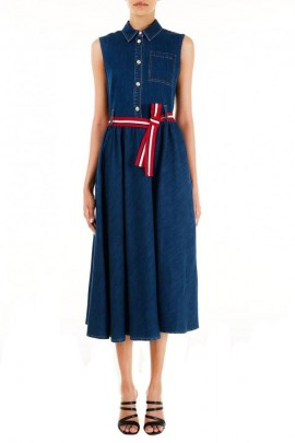 LIU JO Long denim dress