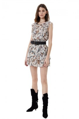 LIU JO Sleeveless floral blouse