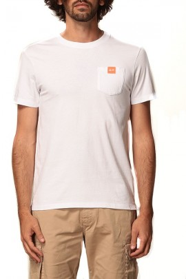 SUN 68 T-shirt with pocket and micrologist