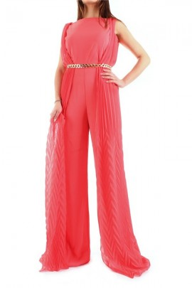MARCIANO Pleated palazzo suit
