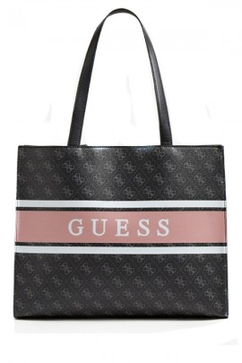 GUESS Square micrologist bag and band with logo