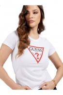 GUESS Basic t-shirt with logo