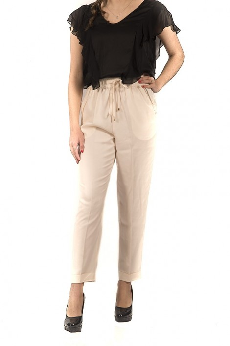 KOCCA Chino trousers with drawstring