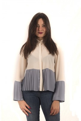 KAOS Shirt with pleated detail
