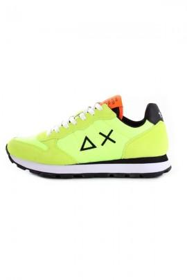 Zapatos deportivos SUN 68 para hombre - VERDE FLUO
