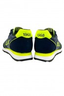 SUN 68 Logo shoe and fluo piping