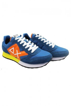 Zapatillas deportivas de hombre SUN 68 con logo max y contraste