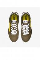 Baskets SUN 68 pour hommes avec logo max et contraste