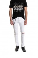 ANTONY MORATO Jeans with breaks and chain