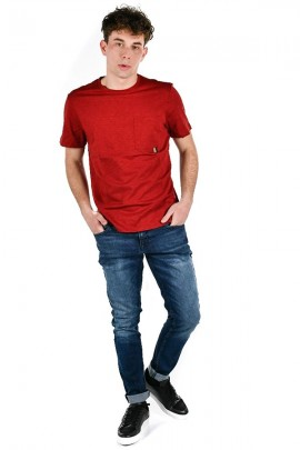 ANTONY MORATO Slub t-shirt with pocket