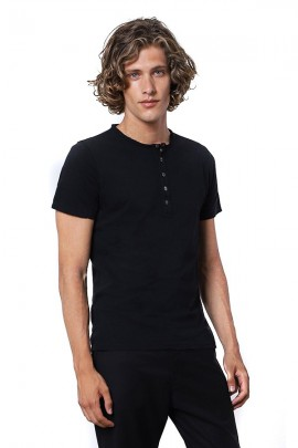 IMPERIAL Seraph T-shirt with buttons