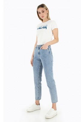 BITTE Jeans mit hoher Taille