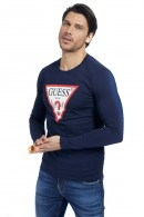 GUESS Long sleeve t-shirt with logo print