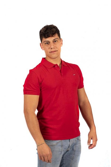 LEVIS Basic polo shirt with micrologist