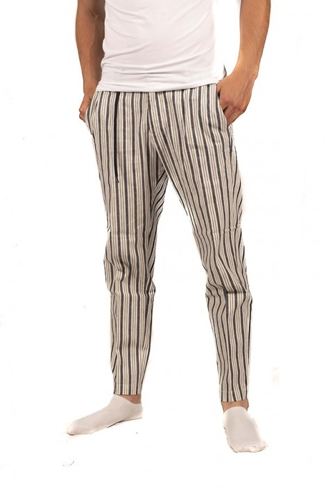 ANTONY MORATO Striped trousers with drawstring