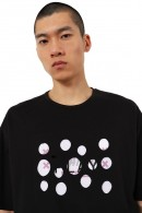 IMPERIAL Crewneck T-shirt and tear-off logo