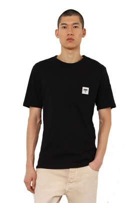T-shirt IMPERIAL col rond et micrologiste - NERO