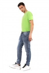 IMPERIAL Skinny micro-cracked jeans