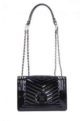 GUESS Small patent leather bag