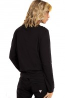 GUESS Long sleeve t-shirt with front print